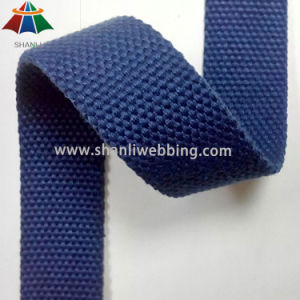1 Inch Blue Polyester Cotton Webbing pictures & photos
