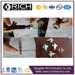 Textile Machine Connector/Valve Media Body/Valve Part/Bolt, Nuts, Bolt/Stainless Steel Valve Part/CNC Machining/Machine Parts/Casting Steel Part/Hardware pictures & photos