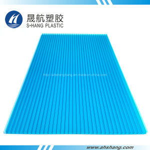 SGS Approved Polycarbonate Hollow Sheet with UV Protection pictures & photos