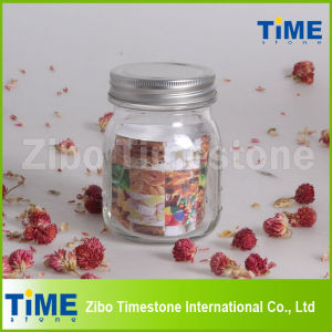 Small Glass Food Storage Jar with Lid pictures & photos