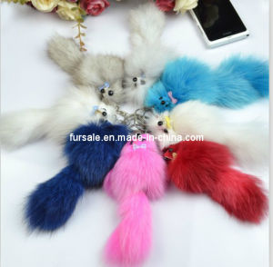 New Fashion Fox Keychain Many Colors