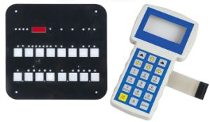 Membrane Switch Complete with Integral Back Plate (OLY-MS-08)