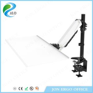 Gas Lifting Stand up Workstation/Monitor Mount with Keyboard (JN-WS14) pictures & photos