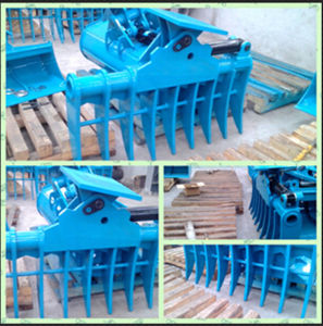 Excavator Tilt Rake Bucket for 4-45t pictures & photos