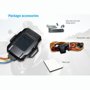 Waterproof Car/Vehicle GPS Tarcker with SIM Card Slot and Real-Time pictures & photos