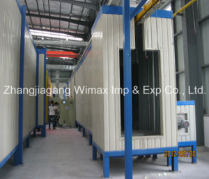 Lamppost Powder Coating Machine pictures & photos