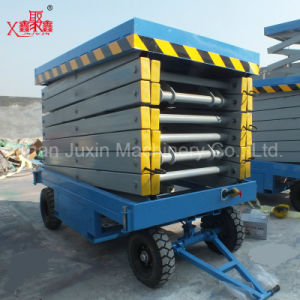 Hot Sale Mobile Hydraulic Scissor Lift Electric Lift Table pictures & photos
