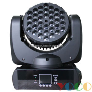 36X3w Mini Disco Stage Light RGB LED Beam Moving Head