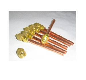 "1/4"" Size Refrigeration Copper Charging Valve pictures & photos"