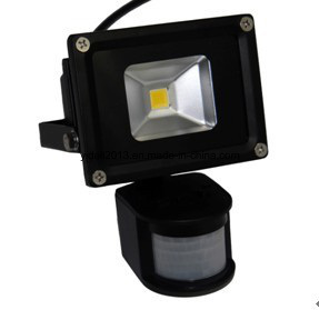 High Power Outdoor IP65 10W LED Projector Sensor Floodlight pictures & photos