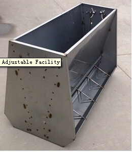 Pig Feeder with Feed Adjustable Facility