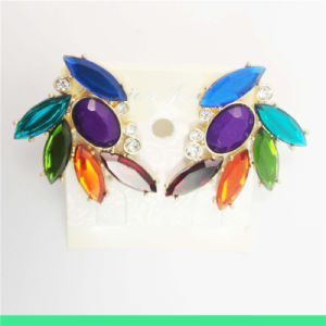 New Item Colorful Resin Acrylic Fashion Jewellery Earring