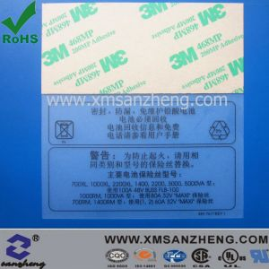Warning Labels for Lead-Acid Battery pictures & photos