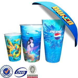 Plastic Cup 3D Lenticular Printing pictures & photos