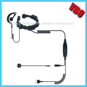 Hot Sell Two Way Radio Throat Mic Headset (VB-206) pictures & photos