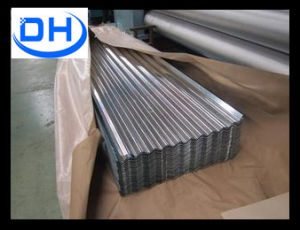 Beautiful Blue / White Corrugated Plastic Roofing Sheets with Corona Treatment pictures & photos