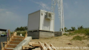 Container House/ISO Container House/ Flat Packed Container House for Telecommunication (shs-fp-telecommunication001) pictures & photos