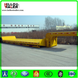 3 Axle 60 Ton Lowbed Truck Trailer pictures & photos