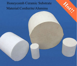 Catalyst Carrier Ceramic Honeycomb Substrate Ceramic Honeycomb Catalyst pictures & photos