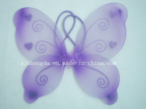 Fairy Butterfly Wings, Wands Costume Set