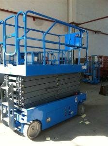 Hydraulic Rising Platform Self-Propelled Scissor Lift pictures & photos