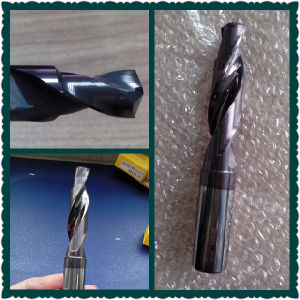 2 Flutes High Quality Tungsten Carbide Twist Drill Bit pictures & photos