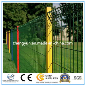 2017 PVC Coated Square Wire Panel Mesh Fence for Garden pictures & photos