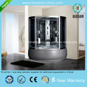 High Quality Luxury Massage Complete Shower Room Sauna Cabin (BLS-9851 GREY) pictures & photos