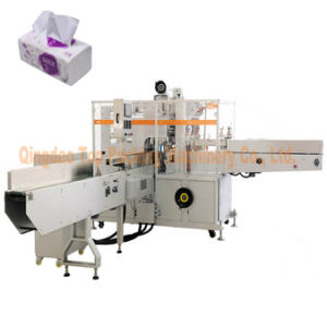 Soft Drawn Facial Tissue Paper Making Package Machine pictures & photos