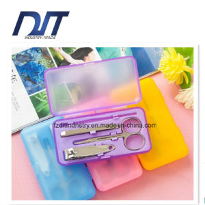 Hot Sell Coating Nail Cutter Set Manicure Set with Box pictures & photos