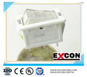 Electric Power Rocker Switch Excon Ss22 with Light pictures & photos