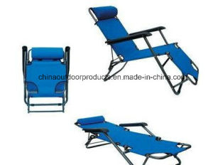 Folding Chair/Bed for Two Usages (ET-CHO103) pictures & photos