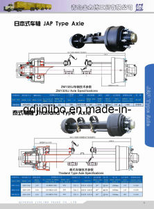 Trailer Axle Sws Type Axle Good Manufacturer pictures & photos