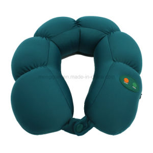 Soft Lycra Nano Particles Vibration Massage Pillow (MQ-MP1) pictures & photos