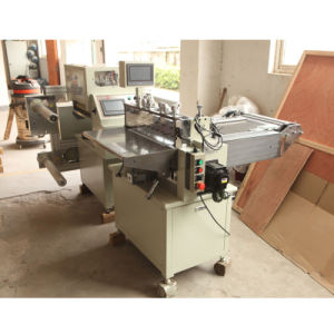 High Precision and High Speed PVC Belt, Pet Belt Cutting Machine pictures & photos