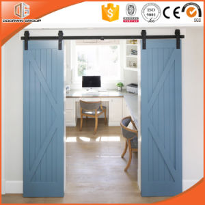 Most Popular Wood Barn Door Made by Doorwin pictures & photos