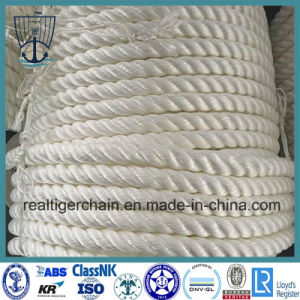 3/4-Strands White Mooring Rope for Sale pictures & photos