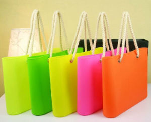 2015 Hot Sell Cheap Silicone Beach Bag, Silicone Bag, Silicone Tote Bag pictures & photos