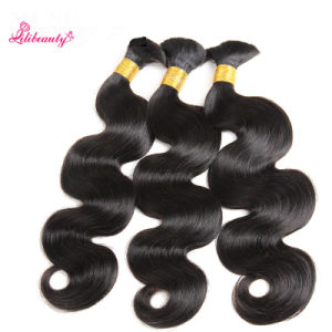 Brazilian Factory Wholesale Hair Braids in Bundle with Human Hair Body Wave pictures & photos