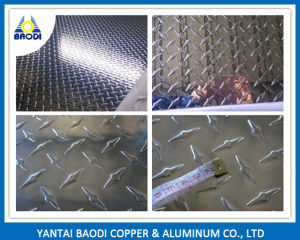 High Grade Aluminum Diamond Checkered Plate pictures & photos