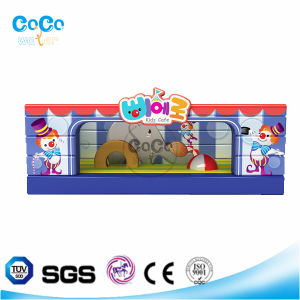 Cocowater Design Funny Inflatable Circus Theme Bouncer LG9031