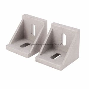 4040 Series Aluminum Extrusion Bracket, Die-Cast Angle Gusset pictures & photos