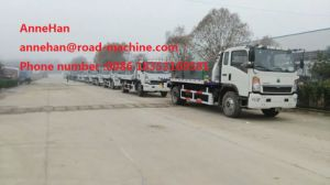 Sinotruk Towing Lifting 4t 4 X 2 Rollback Wrecker Tow Truck
