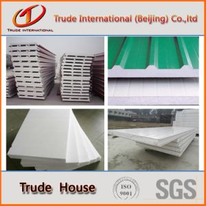 Color Steel Sandwich Panels Used in Modular/Prefab/Prefabricated Houses pictures & photos