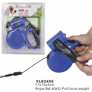 LED Chew Proof Retractable Dog Leash (YL83455) pictures & photos