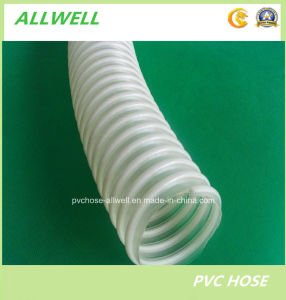 PVC Suction Spiral Garden Discharge Water Irrigation Hose pictures & photos