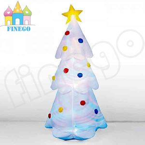 Christmas Decoration Tree Inflatable LED Christmas Tree with LED Light pictures & photos