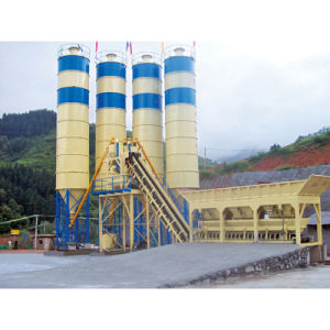 50m3/H Stationery Concrete Mixing Plant pictures & photos
