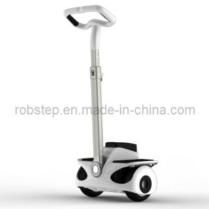 Two-Wheel Personal Transporter Electric Vehicle with Self Balancing Features
