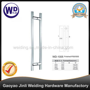 Stainlesss Steel Glass Door Shower Handle Wd-1005 pictures & photos